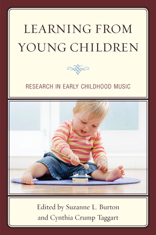 Cover image for the book Learning from Young Children: Research in Early Childhood Music