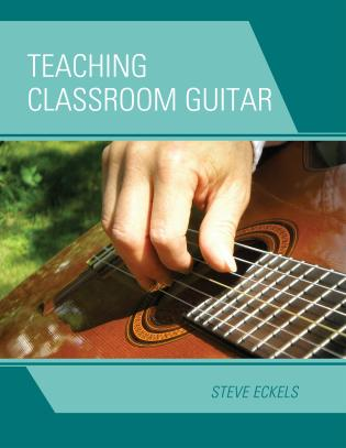 Cover image for the book Teaching Classroom Guitar