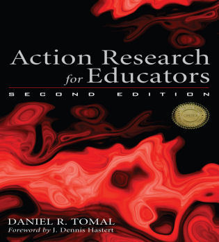 Cover image for the book Action Research for Educators, Second Edition