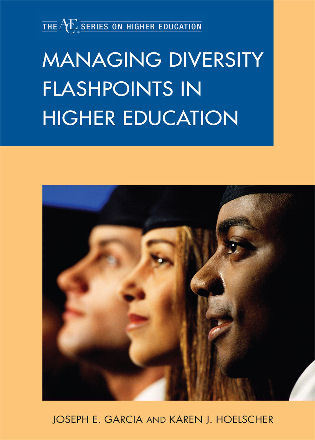 Cover image for the book Managing Diversity Flashpoints in Higher Education