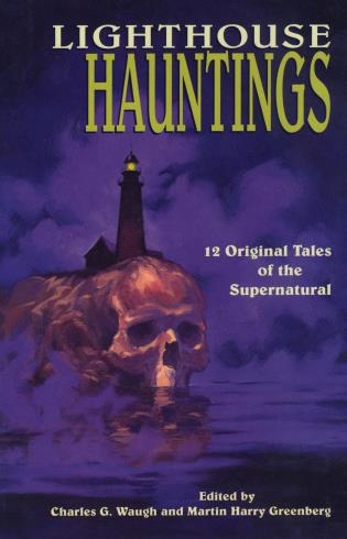 Cover image for the book Lighthouse Hauntings
