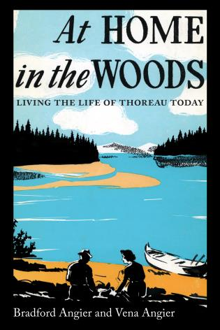 Cover image for the book At Home in the Woods: Living the Life of Thoreau Today