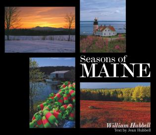 Cover image for the book Seasons of Maine