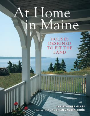 Cover image for the book At Home in Maine: Houses Designed to Fit the Land