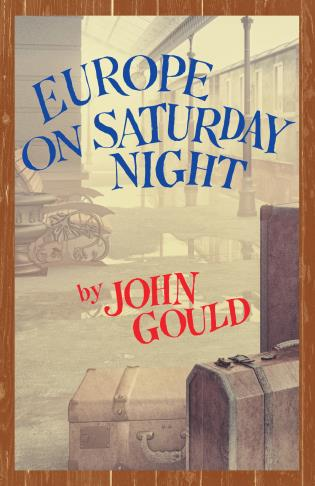Cover image for the book Europe on Saturday Night