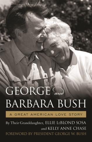 Cover image for the book George & Barbara Bush: A Great American Love Story