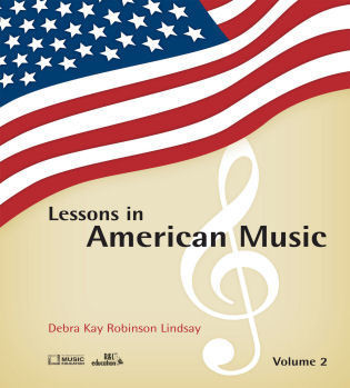 Cover image for the book Lessons in American Music, Volume 2