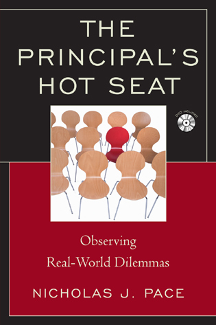 Cover image for the book The Principal's Hot Seat: Observing Real-Life Dilemmas