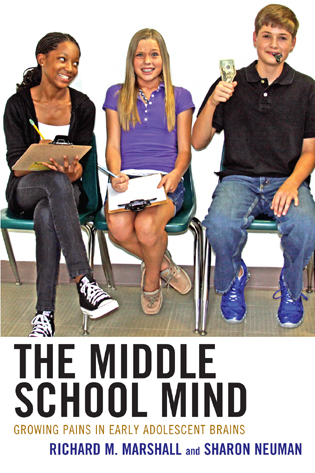Cover image for the book The Middle School Mind: Growing Pains in Early Adolescent Brains