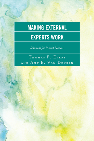Cover image for the book Making External Experts Work
