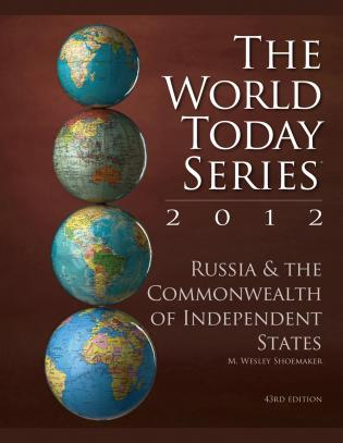 Cover image for the book Russia and The Commonwealth of Independent States 2012, 43rd Edition