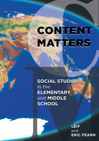 Cover image for the book Content Matters: Social Studies in the Elementary and Middle School
