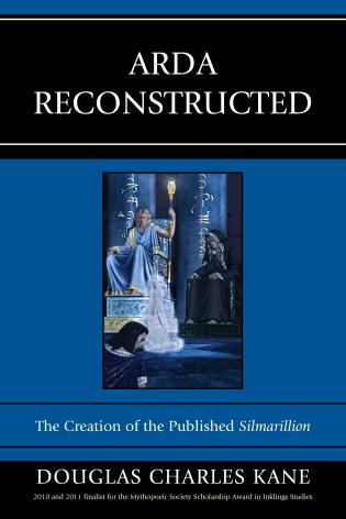 Cover image for the book Arda Reconstructed: The Creation of the Published Silmarillion