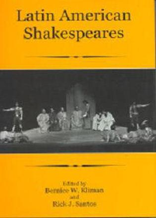 Cover image for the book Latin American Shakespeares