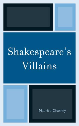 Cover image for the book Shakespeare's Villains