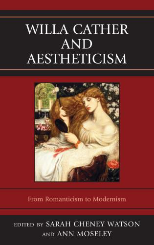 Cover image for the book Willa Cather and Aestheticism