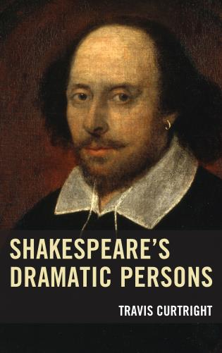 Cover image for the book Shakespeare's Dramatic Persons