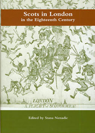 Cover image for the book Scots in London in the Eighteenth Century