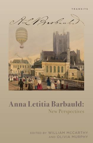 Cover image for the book Anna Letitia Barbauld: New Perspectives