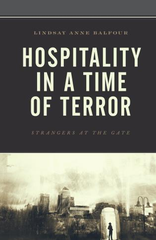 Cover image for the book Hospitality in a Time of Terror: Strangers at the Gate