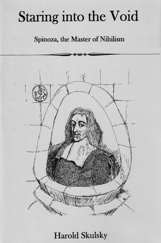 Cover image for the book Staring into the Void: Spinoza, Master of Nihilism