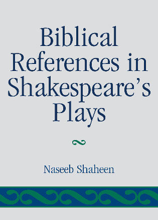 Cover image for the book Biblical References in Shakespeare's Plays