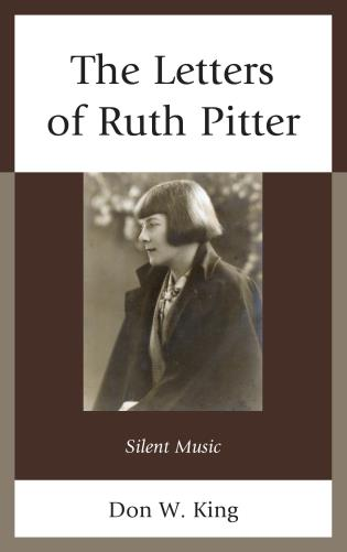 Cover image for the book The Letters of Ruth Pitter: Silent Music
