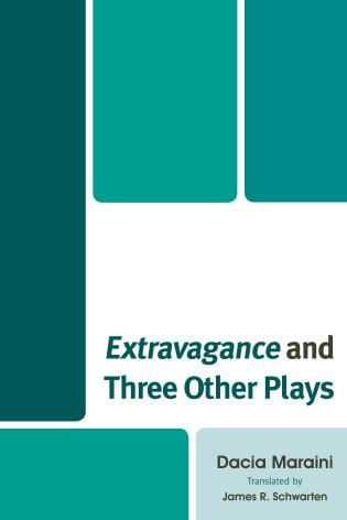 Cover image for the book Extravagance and Three Other Plays