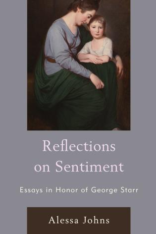 Cover image for the book Reflections on Sentiment: Essays in Honor of George Starr
