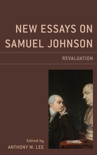 Cover image for the book New Essays on Samuel Johnson: Revaluation