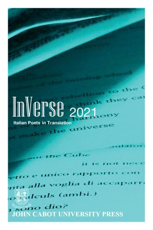 Cover image for the book InVerse 2021: Italian Poets in Translation