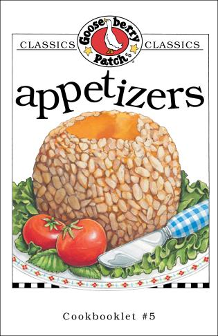 Cover image for the book Appetizers Cookbook