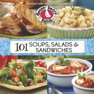 Cover image for the book 101 Soups, Salads & Sandwiches