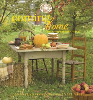 Cover image for the book Coming Home with Gooseberry Patch Cookbook