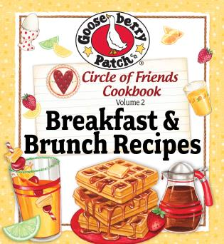 Cover image for the book Circle of Friends: 25 Breakfast & Brunch