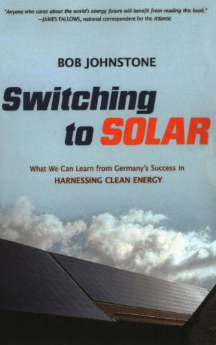 Cover image for the book Switching to Solar: What We Can Learn from Germany's Success in Harnessing Clean Energy