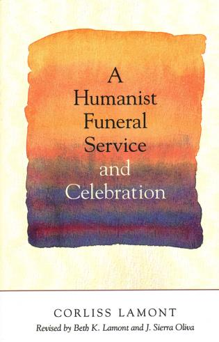 Cover image for the book A Humanist Funeral Service and Celebration
