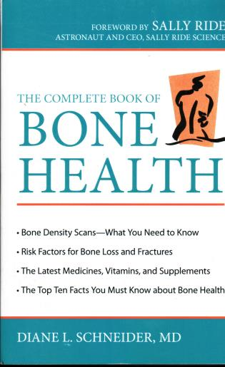 Cover image for the book The Complete Book of Bone Health