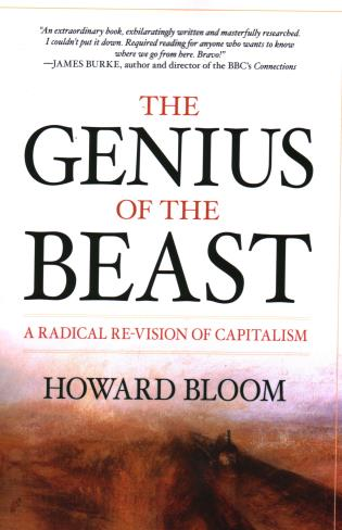 Cover image for the book The Genius of the Beast: A Radical Re-Vision of Capitalism