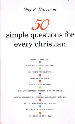 Cover image for the book 50 Simple Questions for Every Christian