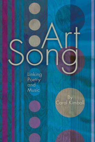 Cover image for the book Art Song: Linking Poetry and Music