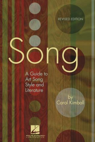 Cover image for the book Song: A Guide to Art Song Style and Literature