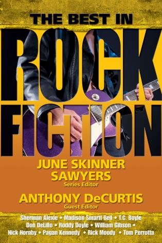 Cover image for the book The Best in Rock Fiction