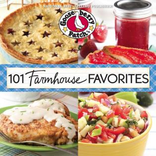Cover image for the book 101 Farmhouse Favorites