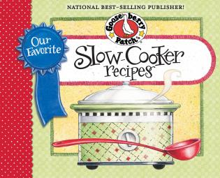 Cover image for the book Our Favorite Slow-Cooker Recipes Cookbook: Serve Up Meals That Are Piping Hot, Delicious and Ready When You Are...And Your Slow Cooker Does All the Work!