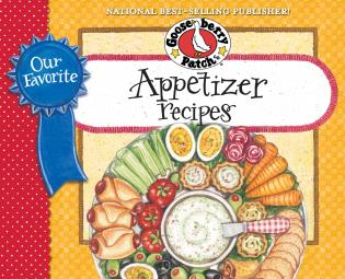 Cover image for the book Our Favorite Appetizer Recipes Cookbook