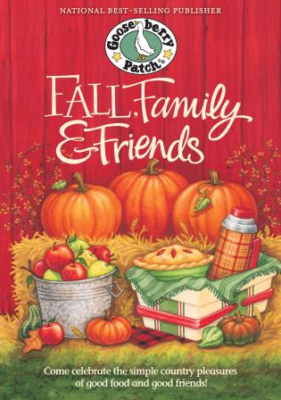 Cover image for the book Fall, Family & Friends Cookbook