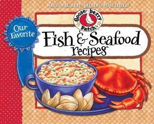 Cover image for the book Our Favorite Fish & Seafood Recipes Cookbook