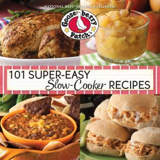 Cover image for the book 101 Super Easy Slow-Cooker Recipes Cookbook