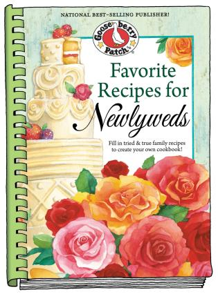 favorite recipes for newlyweds fill in tried true family recipes